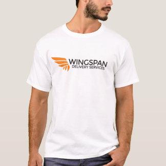 Camiseta del logotipo de los servicios de entrega