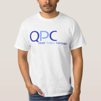 Camiseta del logotipo de QPC