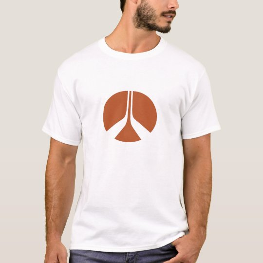 Camiseta del logotipo de Rockwell International