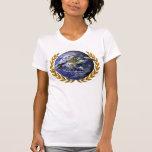 Camiseta del logotipo del día del UFO del mundo