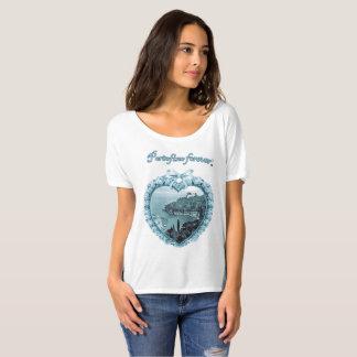 Camiseta del logotipo del forever® el   de