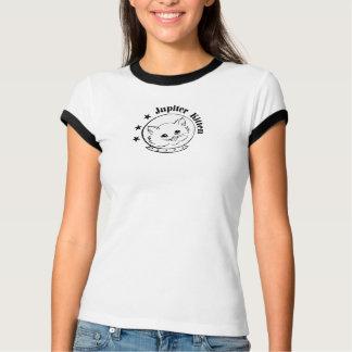 Camiseta del logotipo del gatito de Júpiter