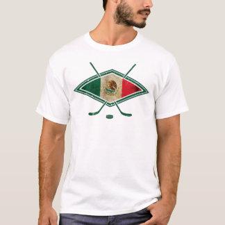 Camiseta del logotipo del hockey sobre hielo de