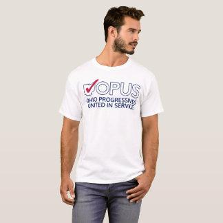 Camiseta del logotipo del OPUS