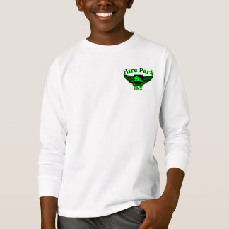 Camiseta del LS de la juventud del parque BMX del