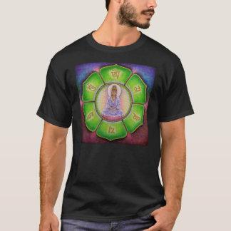 Camiseta del mantra de Kuan Yin de la diosa