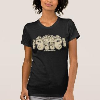 Camiseta del mantra de Vintaged Ganesh