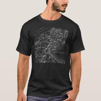 Camiseta del mapa de las islas del apóstol