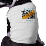 camiseta del mascota de uQR.me Ropa De Perro