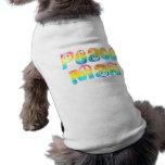 Camiseta del mascota del hombre de la paz camisa de mascota