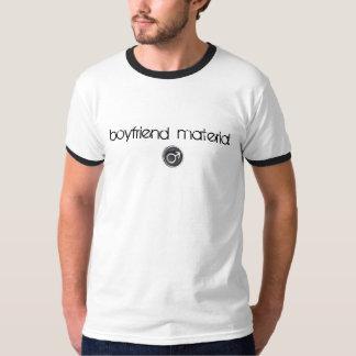 Camiseta del material del novio