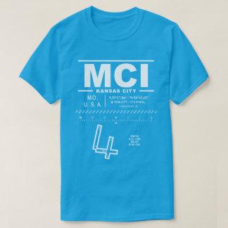 Camiseta del MCI del aeropuerto internacional de