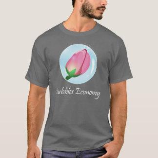Camiseta del mercado de acción de la economía de
