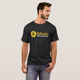 Camiseta del millonario de Bitcoin (BTC) Camiseta