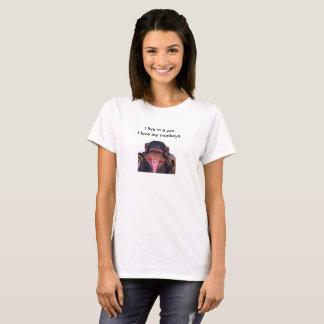 Camiseta del mono de la mamá