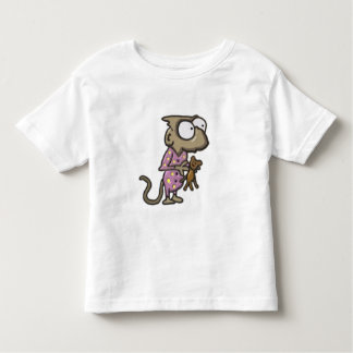 Camiseta del mono del pijama