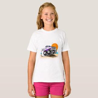 Camiseta del monster truck para los chicas