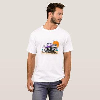 Camiseta del monster truck para los hombres