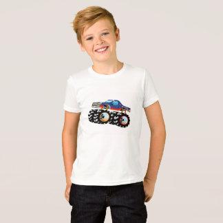 Camiseta del monster truck para los muchachos