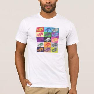 Camiseta del mosaico de Citroen 2CV