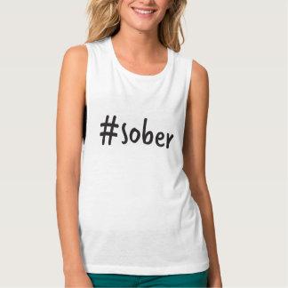 camiseta del músculo del #sober