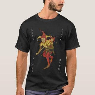 Camiseta del naipe del comodín