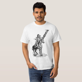 Camiseta del nativo americano