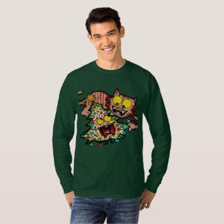Camiseta del navidad con el ilustracion lindo