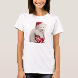 Camiseta Camiseta del navidad de Cub del oso polar