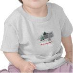 Camiseta del navidad del bebé de Hugz