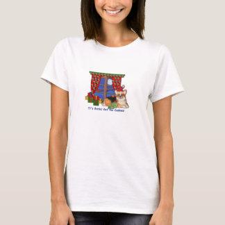 Camiseta del navidad del Corgi