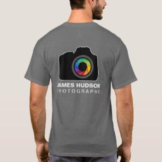 Camiseta del negocio de la fotografía