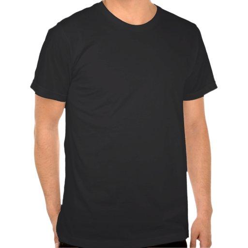 Camiseta del negro del dragón de Yin Yang