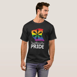 Camiseta del negro del orgullo de Fayetteville