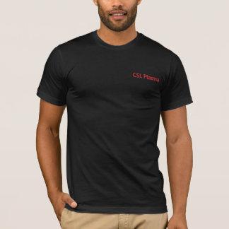 Camiseta del negro del plasma de CSL