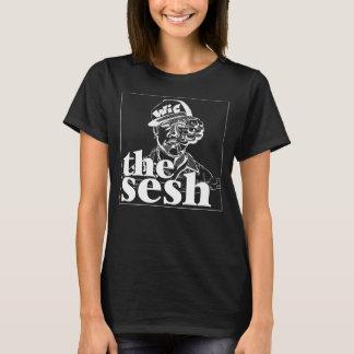 """Camiseta del negro del Sesh de las mujeres """"Wic"""