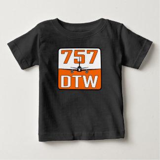 Camiseta del niño de 757 DTW