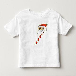 Camiseta del niño de Claus del caramelo