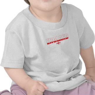 Camiseta del niño de la bandera de Inglaterra
