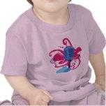 Camiseta del niño de la explosión del arte del