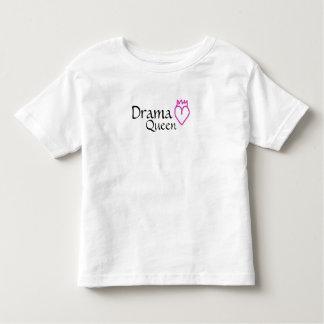Camiseta del niño de la reina del drama