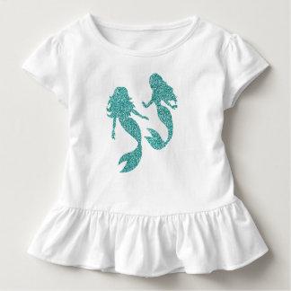 Camiseta del niño de la sirena