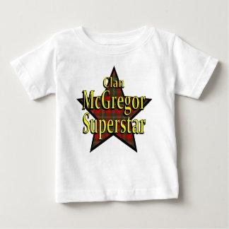 Camiseta del niño de la superestrella de McGregor