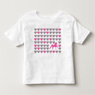 Camiseta del niño del amante de Lil Saddlebred
