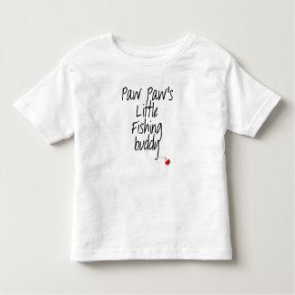 Camiseta del niño del compinche de la pesca de la