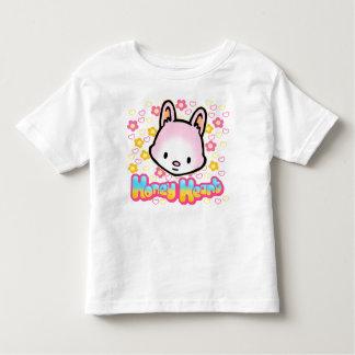 Camiseta del niño del corazón de la miel
