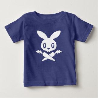 Camiseta del niño del cráneo del conejito