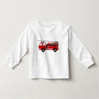 Camiseta del niño del Firetruck
