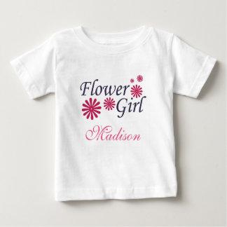 Camiseta del niño del florista