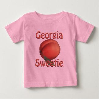 Camiseta del niño del melocotón de Georgia